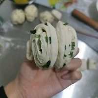 葱香花卷的做法图解6