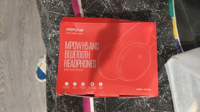Mpow H5 2nd 2Gen Wireless Bluetooth Headphones ANC Active Noise Cancelling Headphone With Carrying Bag For Huawei P30 Iphone XR|headphones with mic|bluetooth headphonebluetooth headphones with mic - AliExpress