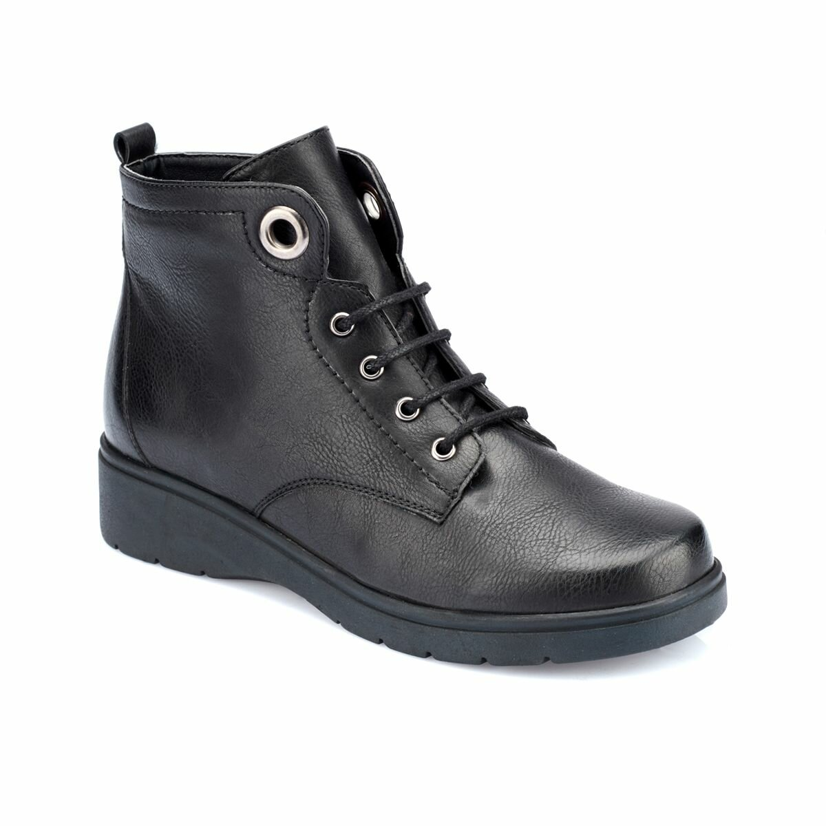 FLO 82.150385.Z Black Women Boots Polaris