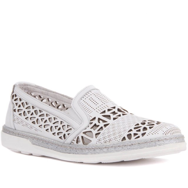 Sail-Lakers Leather Women's Casual Shoes