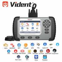 VIDENT iAuto702 Pro iAuto 702Pro con ABS/SRS/EPB/DPF hasta 19 Actualización de función especial de mantenimiento en línea