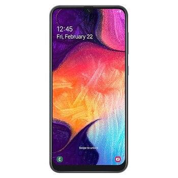 Перейти на Алиэкспресс и купить Samsung Galaxy A50 SM-A505FN 4 ГБ/128 Гб черный две sim-карты