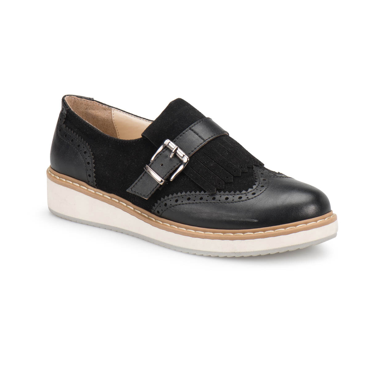 FLO Z209 Black Women Maskulen Shoes BUTIGO
