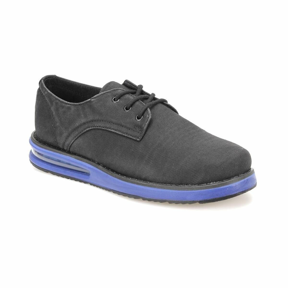 FLO NERON Black Men 'S Classic Shoes-Styles