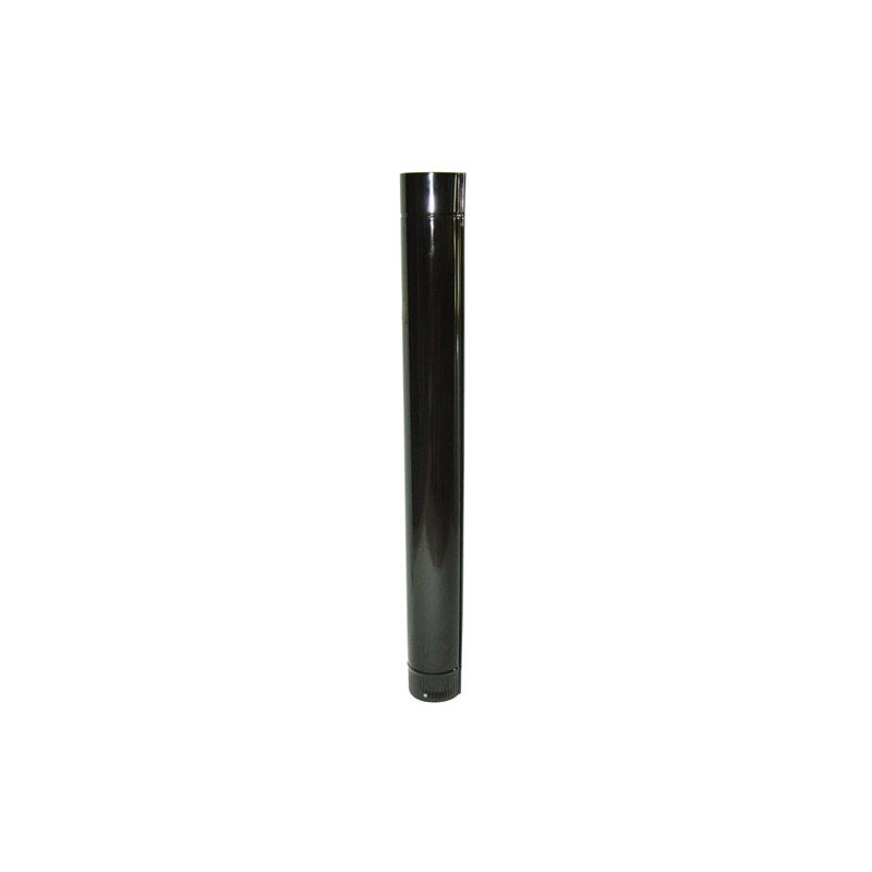 Tube Stove Color Black Vitrified 180mm.
