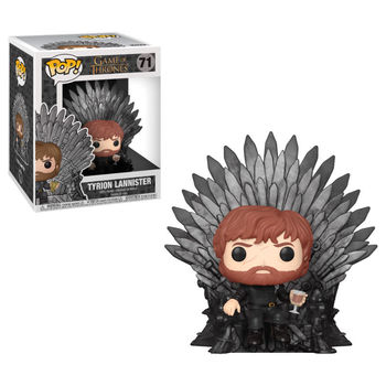 POP Game of Thrones Tyrion Sitting on Throne