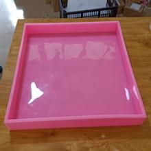 40*40*5cm Custom Silicone Liner Soap Mold Silicone Slab Soap Molds Silicone Molds for Soap Making