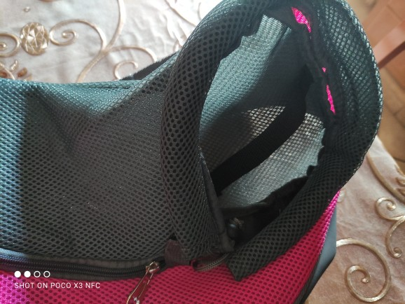 Dog Carrier Sling | Dog Shoulder Carrier | Pet Slings for Small Dogs photo review