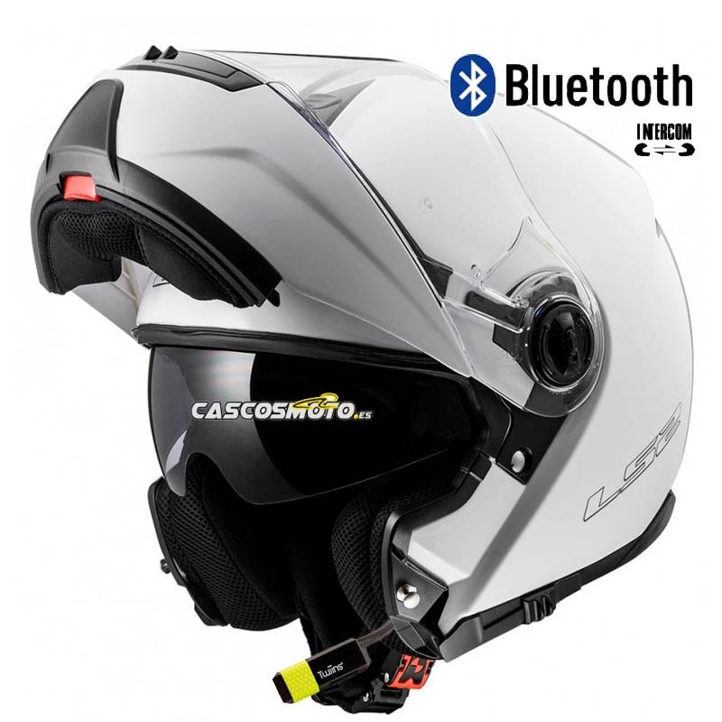 LS2 Casco Moto FF325 XXS Blanco