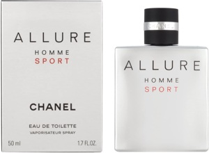 Chanel Allure Homme Sport EDT 50 ml Men Perfume Product Information Technical Details Product Package Dimensions L x W x H 10.8