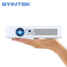 BYINTEK R19 3D 4K DLP Smart Wifi Android LED przenośny Mini 300 calowy projektor Full HD 1080P do telefonu komórkowego Tablet PC tanie tanio Korekcja ręczna Automatyczna korekcja CN (pochodzenie) Projektor cyfrowy 16 09 Focus 700 ANSI lumens 1280x800 dpi 700ANSI lumens