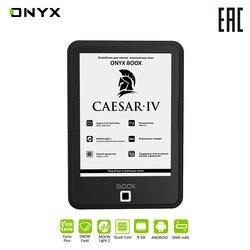 Электронная книга ONYX BOOX CAESAR 4 e-ink Carta 6 читалка с подсветкой