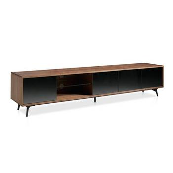 Hickory Tree TV cabinet, modern living room TV cabinet, TV furniture Italian design, TV cabinet doors and fittings, modern TV, 3048 Angel Cerdá S.L