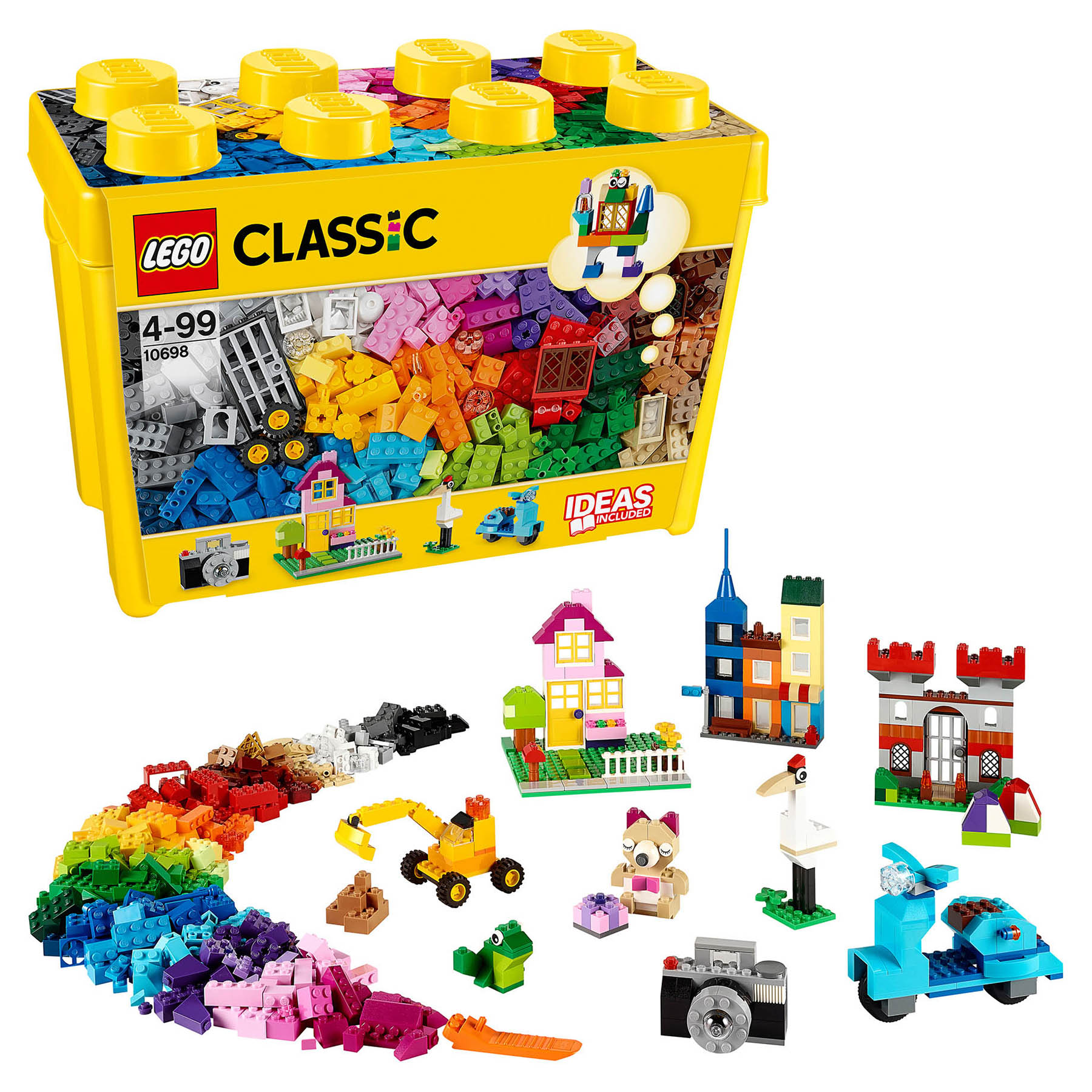 Designer <font><b>Lego</b></font> <font><b>classic</b></font> <font><b>10698</b></font> set for creativity large size image