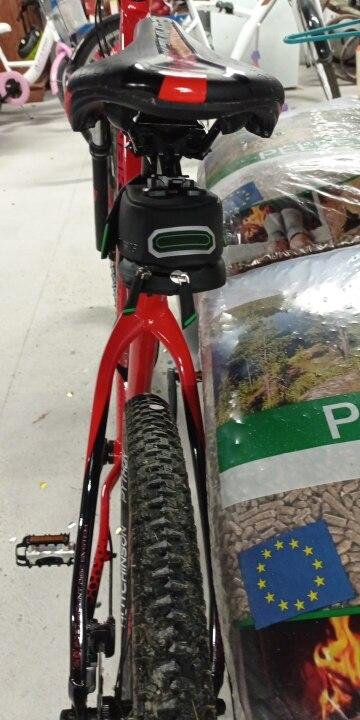 sac de vélo étanche pour selle