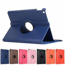 360 Degree Rotating Leather Smart Cover Case For Apple iPad 10.2 7th Fashion New PU Leather Tablet Case Protective Shell стоимость