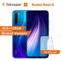 Global Original Redmi Note 8 4GB 128GB ROM Octa Core Smartphone Snapdragon 665 48MP 6.3