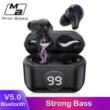 Miniborn настоящие беспроводные наушники Мини bluetooth стерео