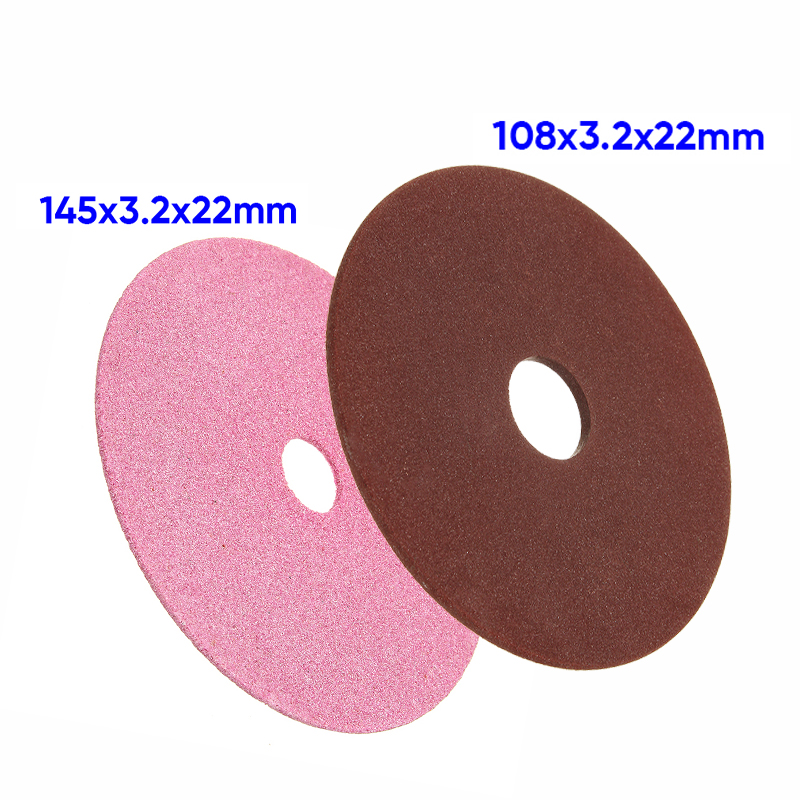 1*Grinding Wheel Disc Pad For Chainsaw Sharpener 3/8 & 404 Chain 108*3.2*22mm Grinding Wheel Disc Pad High Quality Accessories