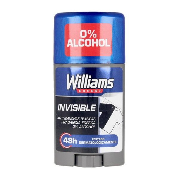 Stick Deodorant Invisible Williams (75 Ml)