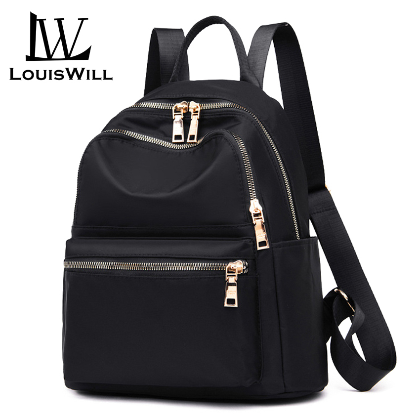 LouisWill Women Backpacks Shoulder Bags Korean Style Travel Bags School Bags Waterproof Oxford Daypacks Back Packs Lightweight
