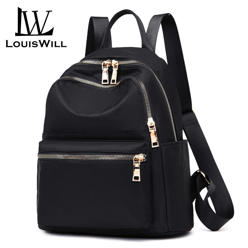 LouisWill Women Backpacks Shoulder Bags Korean Style Travel Bags School Bags Waterproof Oxford Daypacks Back Packs Lightweight