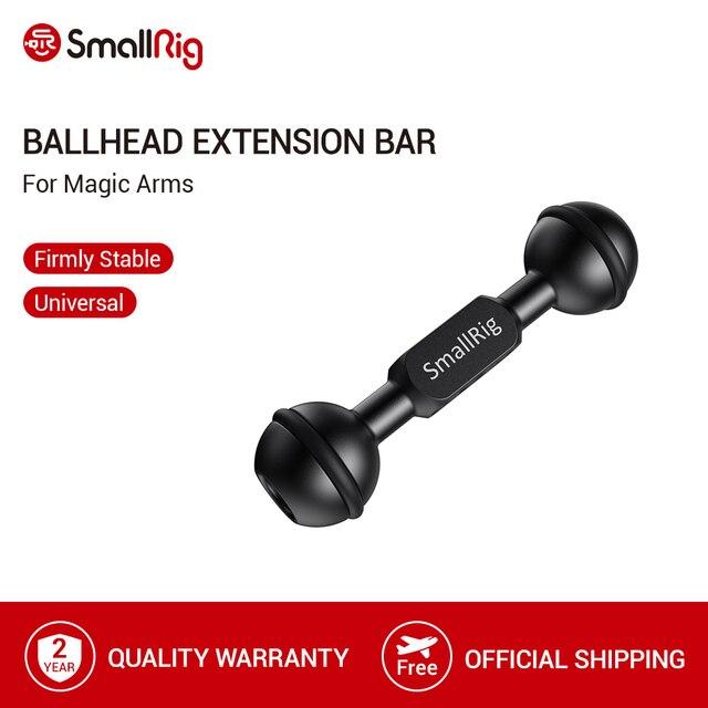 """SmallRig Ballhead Extension BarสำหรับMagicแขน 1/4 """" 20 และ 3/8"""" 16 เกลียวหลุม 2108"""