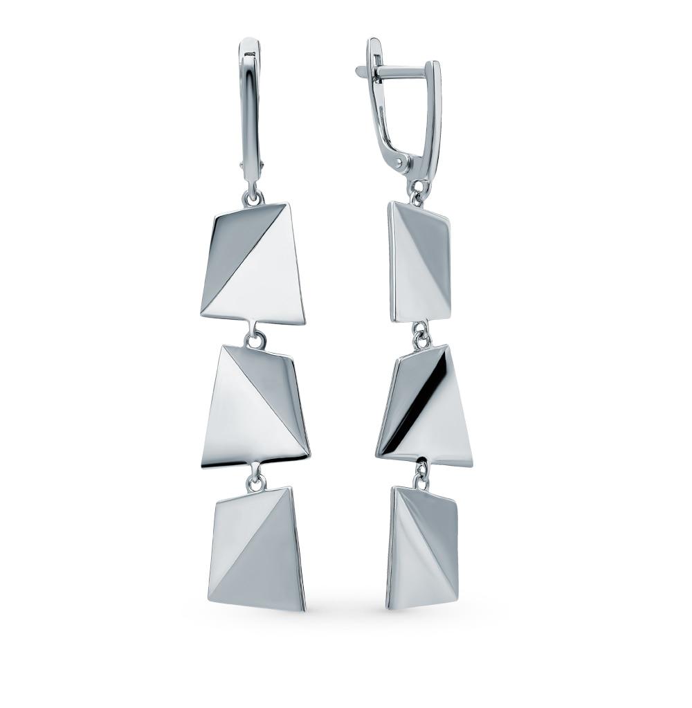 Silver Earrings SUNLIGHT Test 925