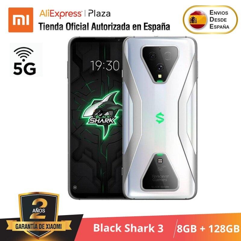 Xiaomi Black Shark 3 (128GB ROM con 8GB RAM, Snapdragon 865, Nuevo, Móvil) [Teléfono Móvil Versión Global para España] Nuevo, Telefóno Movil para Juego, blackshark3
