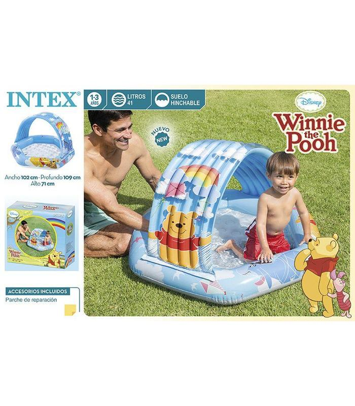 Baby Pool Awning Winnie The Pooh 109x102x71 Cm Toy Store
