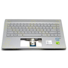 Лоток в сборе с подсветкой Клавиатура us для hp pavilion 14