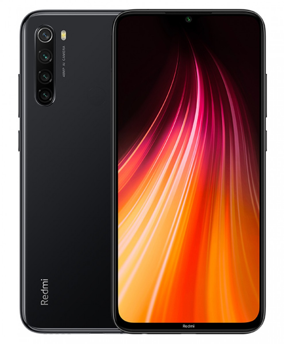 "Phone Xiaomi Redmi Note 8, Black Color, 32 GB ROM, 3 GB RAM, 6.3 ""screen, Dual SIM, Fast Charging, Cá"