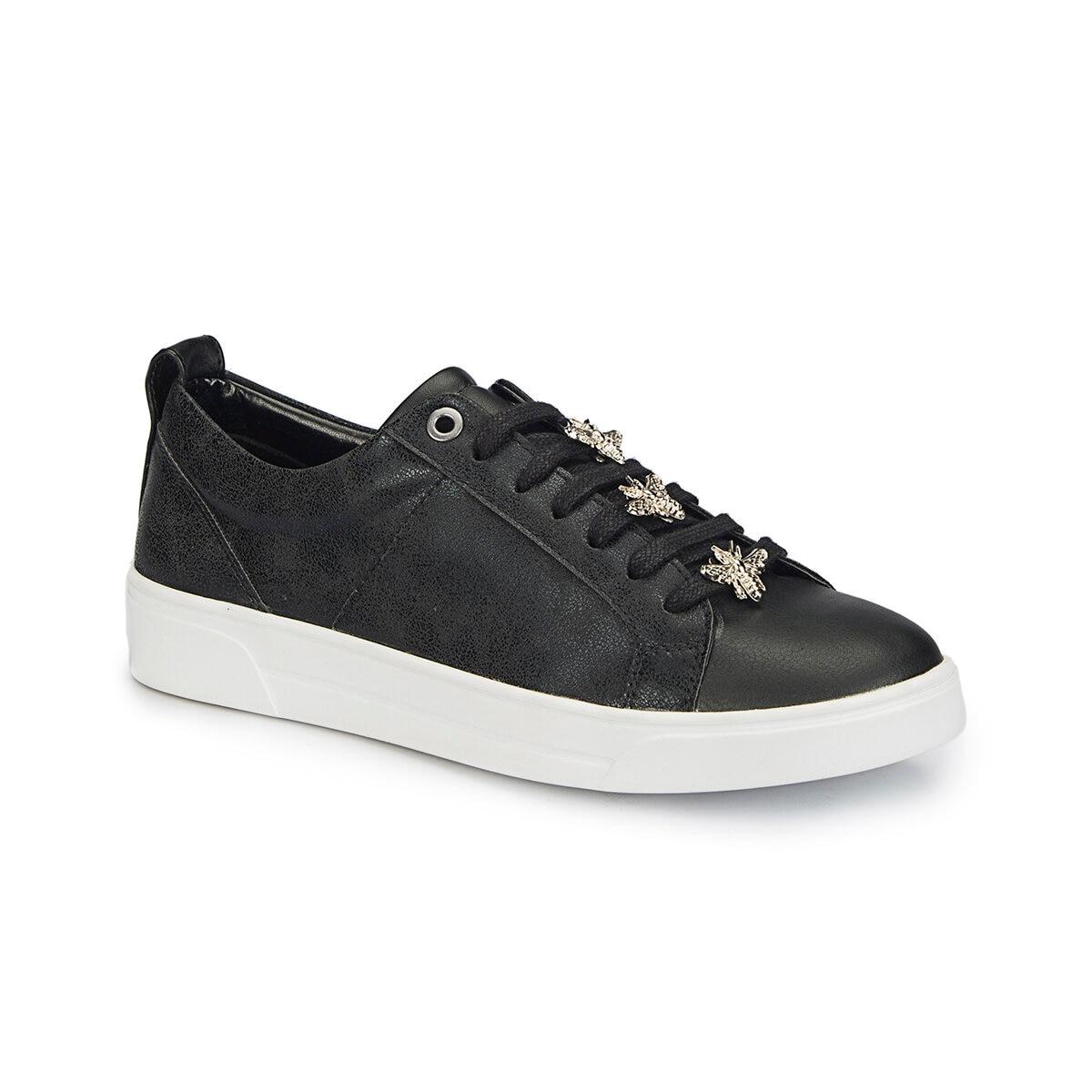 FLO 81.311431.Z Black Women Shoes Polaris