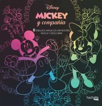 Arteterapia. Mickey Mouse. 6 dibujos mágicos: rasca y descubre