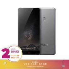-Plaza Garantía- ZTE Nubia Z11 NX531J 5.5 Smartphone en pulgadas aRC 2.0 Corning Gorilla Glass Screen 4GB 64GB Snapdragon 820