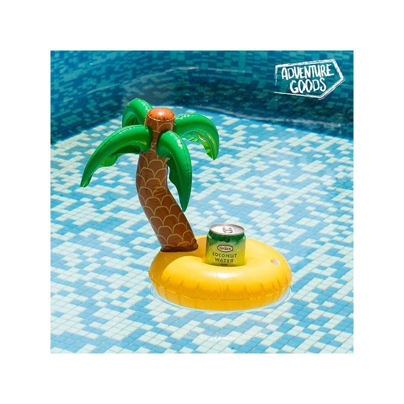 Stand Inflatable Cans Island Palm Tree Adventure Goods