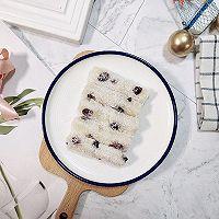糯叽叽的椰蓉蔓越莓糯米糕❗酸酸甜甜,简单易学‼️的做法图解6