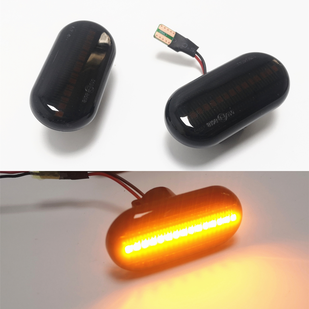 For Renault Megane 1 Clio1 2 KANGOO ESPACE Dacia Duster Dokker Lodgy Smart Fortwo 453 Led Dynamic Turn Signal Lights Side Marker