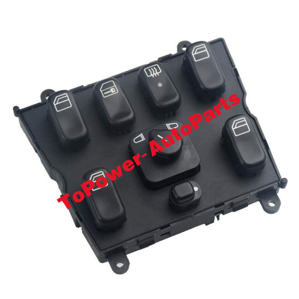 1638206610 Electric Power Window Master Control Switch OEM For 1998-2003 Mercedes-Benzz ML320 ML500 ML55 ML430 3.2/4.3/5.0L
