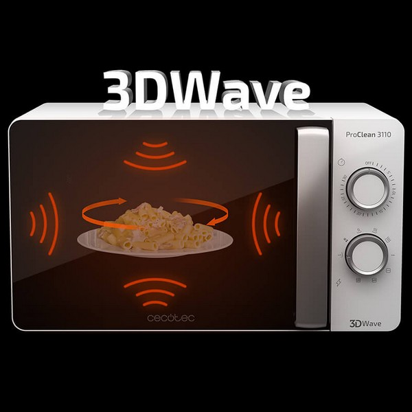 Microwave with Grill Cecotec ProClean 3110 20 L 700W White