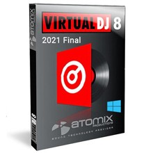 Atomix VirtualDJ Pro 2021 Infinity Fully Activated Version for Windows (x64)