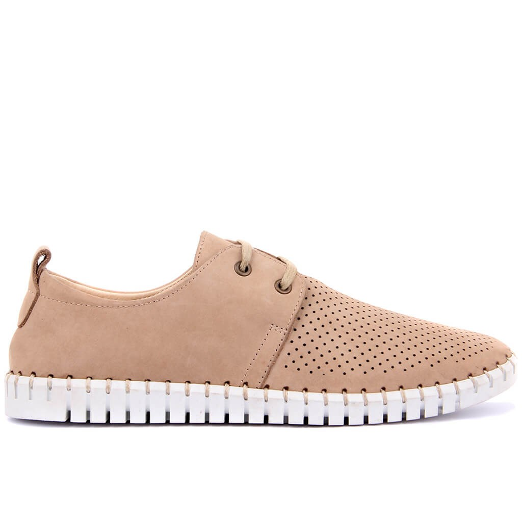 Sail Lakers-Sand Nubuck Men Casual Shoes