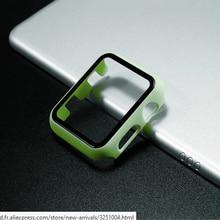 Verre + couvercle pour Apple boîtier de montre 44mm 40mm 42mm 38mm iWatch boîtier accessoire pare-chocs