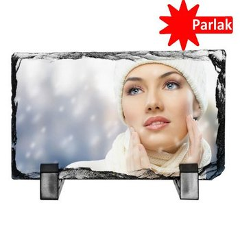 SH04 Sublimation Rectangle Stone 20x30 cm Hand işçiliği Personalized Photo Printing Souvenirs And Plaque Format Used