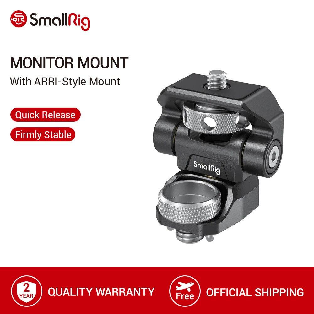 SmallRig Swivel und Tilt Einstellbare Monitor Montieren mit ARRI Stil Halterung Für SmallHD/Atomos/Blackmagic Monitor/bildschirm Mount  2903 Stativ Einbeinstative    - AliExpress