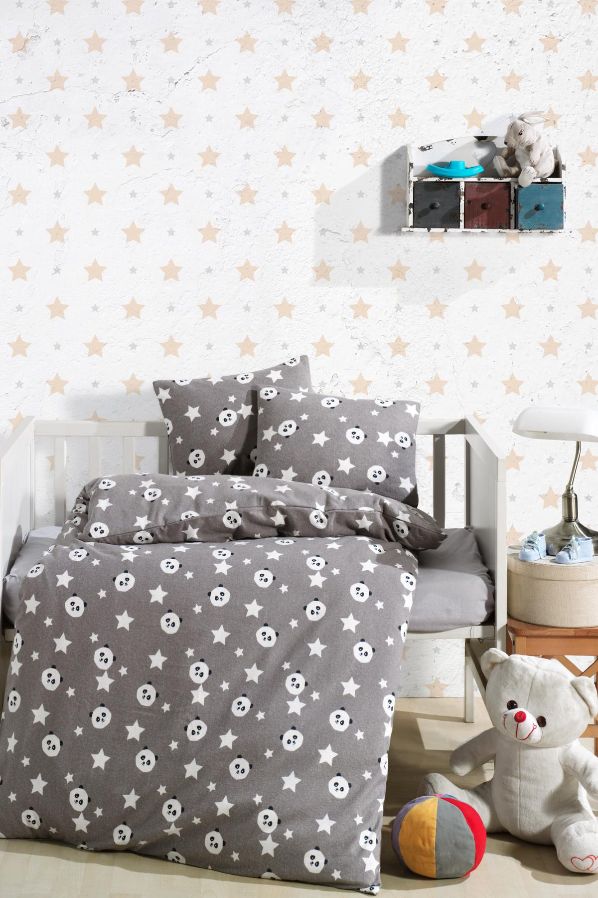 Baby Bed Set Hundred Percent Cotton | Panda