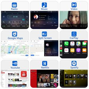 "Image 2 - Dasaita 9"" IPS Car Multimidia Android 10.0 for Subaru Forester WRX 2008 2009 2010 2011 2012 Radio GPS Navigation TDA7850 MAX10"