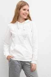 U.S. POLO ASSN. White Regular Sweatshirt