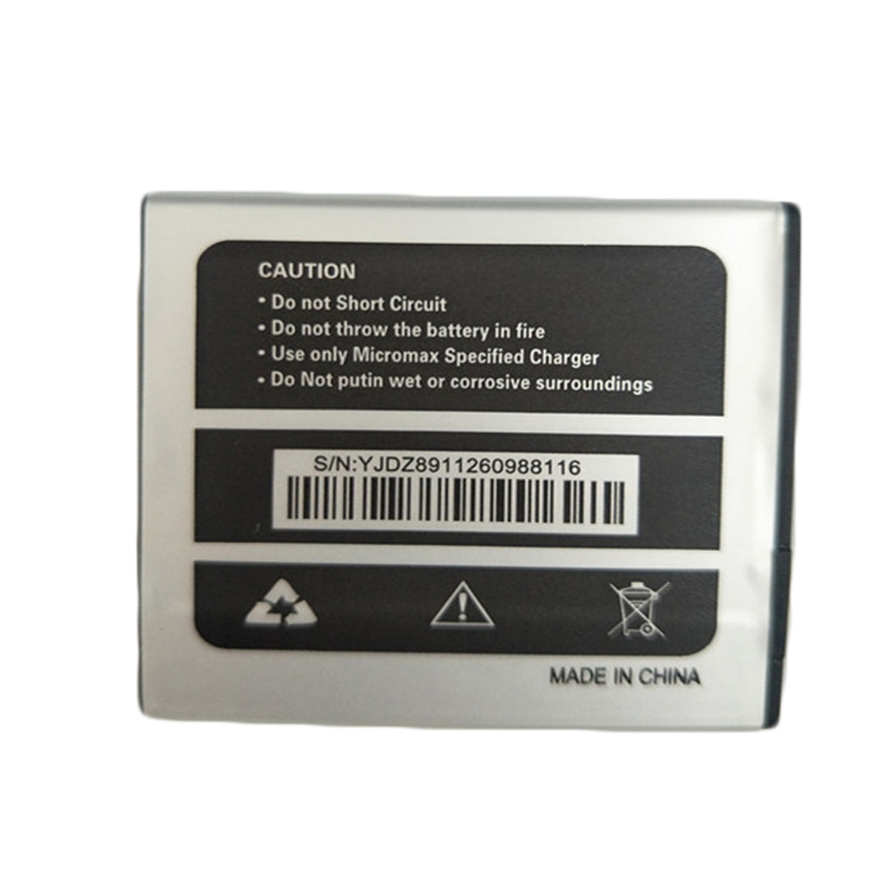 5pcs/lot 3.7V 1800mAh Battery for <font><b>Micromax</b></font> Q415 <font><b>Q</b></font> <font><b>415</b></font> Replacement Li-ion Phone Battery image