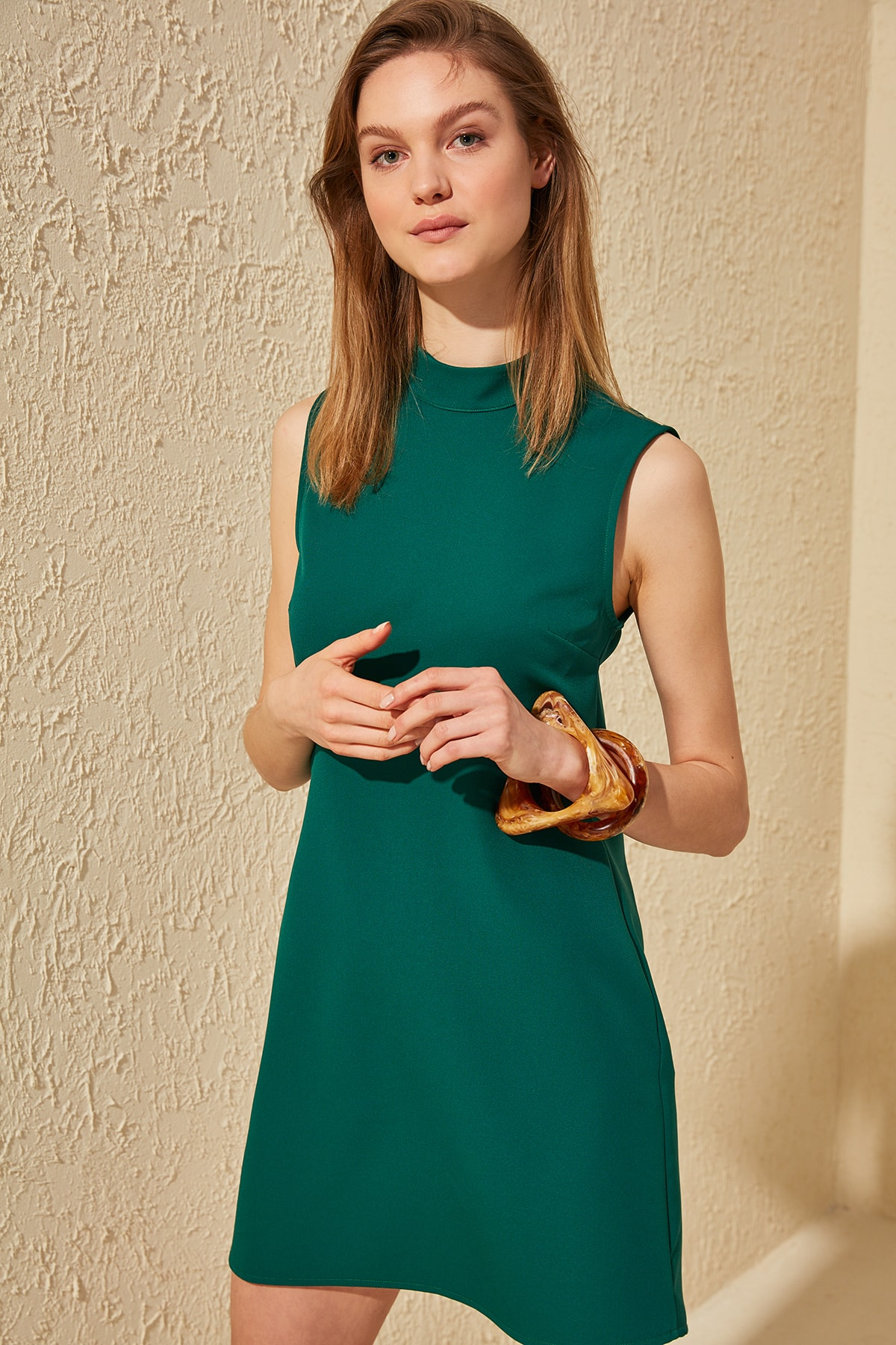 Trendyol Upright Collar Dress TWOSS20EL0685